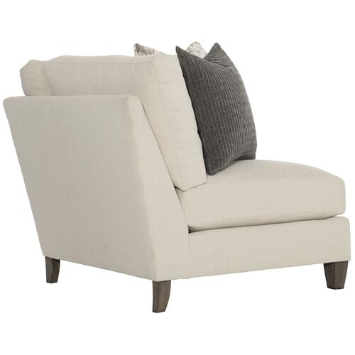 Mila Corner Chair in Aged Gray (788)