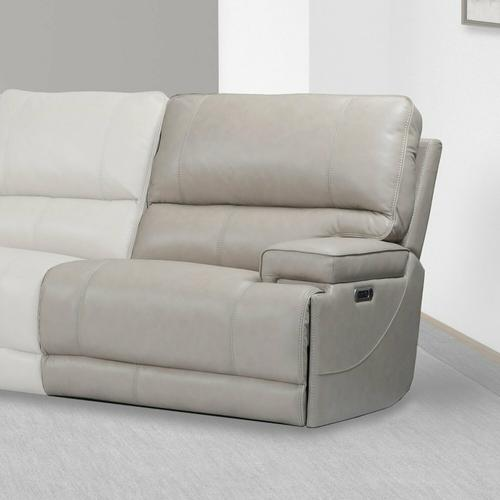 Parker House - WHITMAN - VERONA LINEN - Powered By FreeMotion Power Cordless Right Arm Facing Recliner