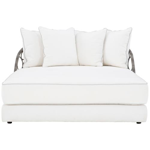 See Details - Bali Daybed in Split Cane All-Weather Wicker in Peppercorn