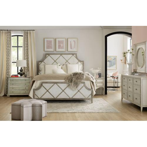 Bedroom Sanctuary Diamont Cal King Panel Bed