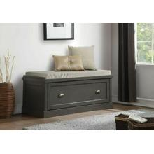 ACME Aislins Bench w/Storage, Fabric & Gray - 96616