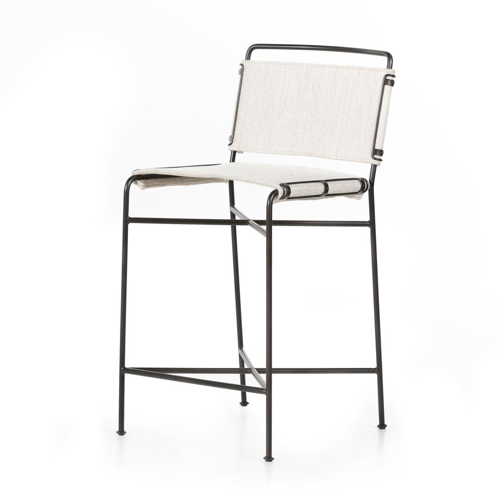 See Details - Counter Stool Size Avant Natural Cover Wharton Bar + Counter Stool