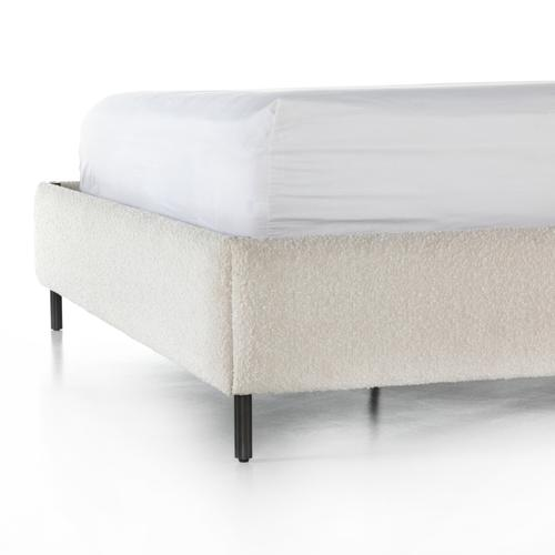 Four Hands - King Size Knoll Natural Finish Anderson Bed