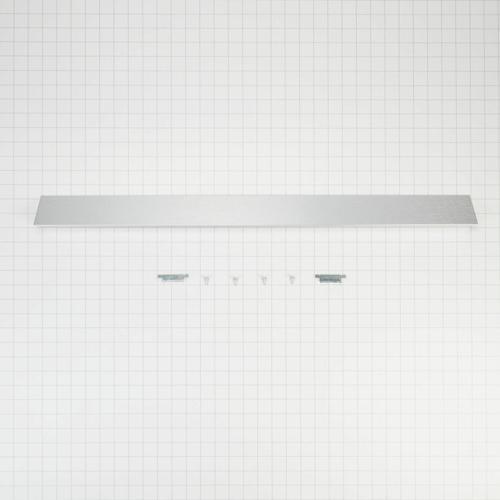 KitchenAid - Slide-In Range Rear Filler Kit, Stainless Steel