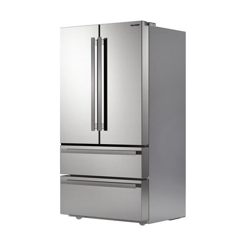 Sharp French 4-Door Counter-Depth Refrigerator