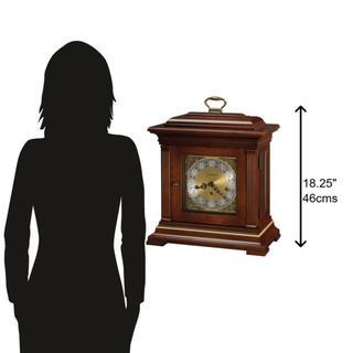 See Details - Howard Miller Thomas Tompion Mantel Clock 612436