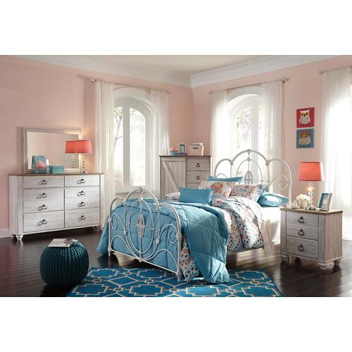 B267 Bedroom Mirror (Willowton)