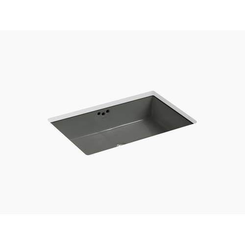 "Thunder Grey 23-7/8"" X 15-5/8"" X 6-1/4"" Undermount Bathroom Sink"