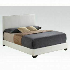 ACME Ireland III Queen Bed (Panel) - 14390Q_KIT - White PU