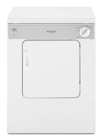 Whirlpool™ 3.4 cu.ft. Compact Electric Dryer with AccuDry Drying System