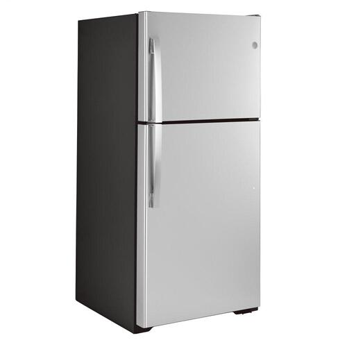 GE Appliances - GE® ENERGY STAR® 19.2 Cu. Ft. Top-Freezer Refrigerator