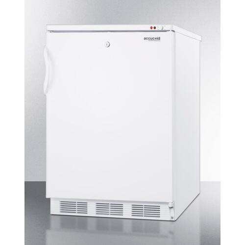 Summit - Freestanding Medical All-freezer Capable of -25 C Operation With Front-mounted Lock