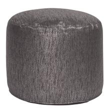 Tall Pouf Glam Zinc