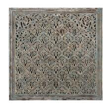 Cheval Wood Carved Panel 60""