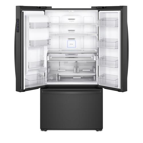 Whirlpool - 36-inch Wide Counter Depth French Door Refrigerator - 24 cu. ft.