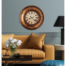 Howard Miller Copper Bay Oversized Wall Clock 625540