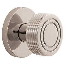 View Product - Polished Nickel with Lifetime Finish 5045 Estate Knob