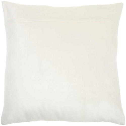 """Sofia Az217 Ivory 20"""" X 20"""" Throw Pillow"""