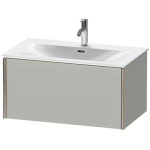 Vanity Unit Wall-mounted, Concrete Gray Matte (decor)