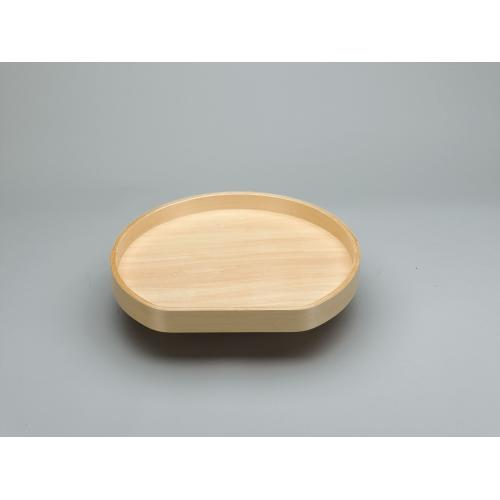 "Rev-A-Shelf - LD-4BW-201-20SBS-1 - 20"" D-Shape Lazy Susan"