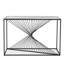 Product Image - Optical Twist Console Table