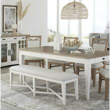 See Details - AMERICANA MODERN DINING Bench Counter Upholstered 49 in.