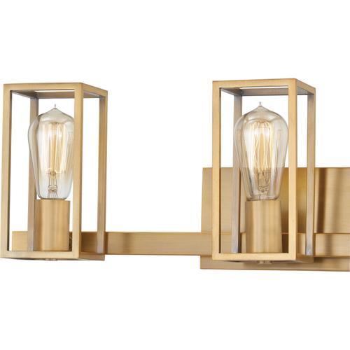 Quoizel - Leighton Bath Light in Weathered Brass