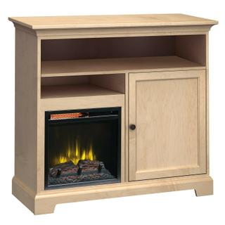 FT46A Extra Tall Fireplace Custom TV Console