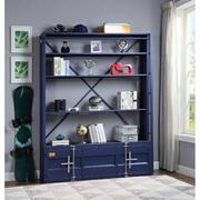 ACME Cargo Bookshelf & Ladder - 39892 - Blue Product Image