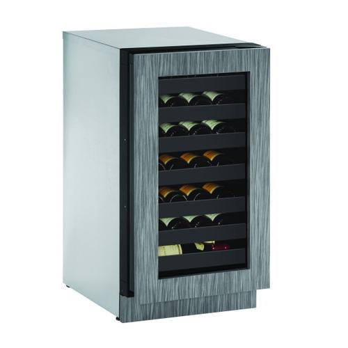 "U-Line - 2218wc 18"" Wine Refrigerator With Integrated Frame Finish (115 V/60 Hz Volts /60 Hz Hz)"