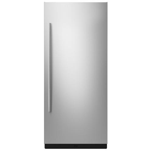"""Euro-Style 36"""" Built-In Column Panel Kit - Right-Swing Stainless Steel"""