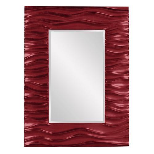 Howard Elliott - Zenith Mirror - Glossy Burgundy