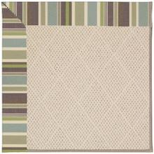"Creative Concepts-White Wicker Brannon Whisper - Rectangle - 24"" x 36"""