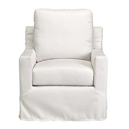 Slip Covered Chair - Shown in 122-05 Ivory Finish