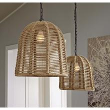 Rope Pendant Light (1/CN)