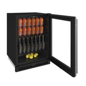"1224rgl 24"" Refrigerator With Stainless Frame Finish (115 V/60 Hz Volts /60 Hz Hz)"