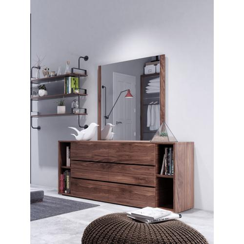 VIG Furniture - Nova Domus Jagger Modern Walnut Dresser & Mirror Set