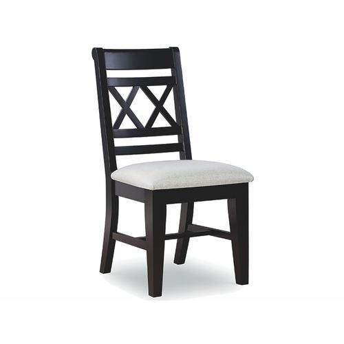 John Thomas Furniture - Chair available also with wood seat.