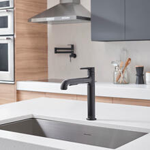 View Product - Studio S Pull-Out Kitchen Faucet  American Standard - Matte Black