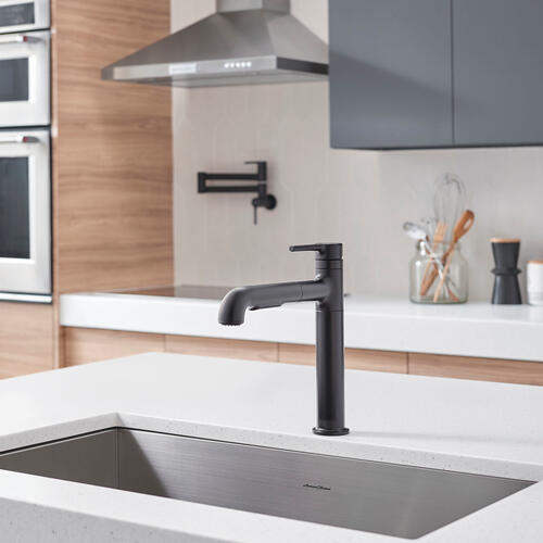 American Standard - Studio S Pull-Out Kitchen Faucet  American Standard - Matte Black