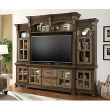 LAREDO 4 piece Entertainment Wall