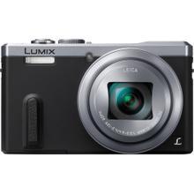 See Details - REFURBISHED LUMIX DMC-ZS40 30X Super Zoom 18.1mp Travel Digital Camera Bundle- Silver