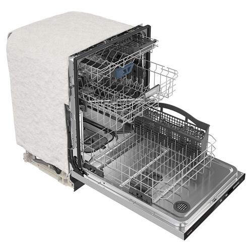 Top control dishwasher with Third Level Rack and Dual Power Filtration