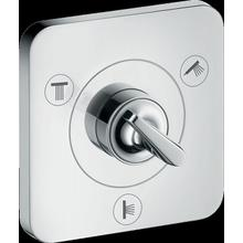 "Chrome Diverter Trim Trio/Quattro 5"" x 5"""