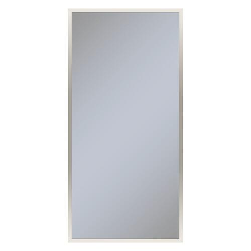 """Profiles 23-1/4"""" X 48"""" X 4"""" Framed Cabinet In Polished Nickel and Non-electric With Reversible Hinge (non-handed)"""