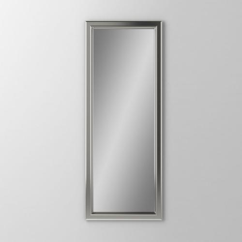 """Main Line 19-1/8"""" X 39-7/8"""" X 1-5/8"""" Bryn Mawr Framed Mirror In Satin Nickel"""