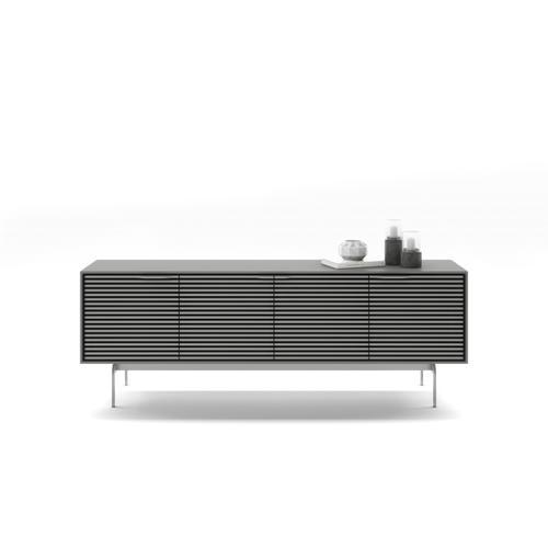 BDI Furniture - Align 7479 Media + Storage Console in Fog Grey Console Base