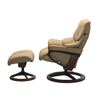 See Details - Stressless® Reno (M) Signature chair with footstool