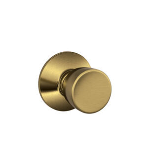 Bell Knob Hall & Closet Lock - Antique Brass Product Image