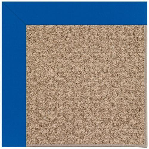 Creative Concepts-Grassy Mtn. Canvas Pacific Blue Machine Tufted Rugs